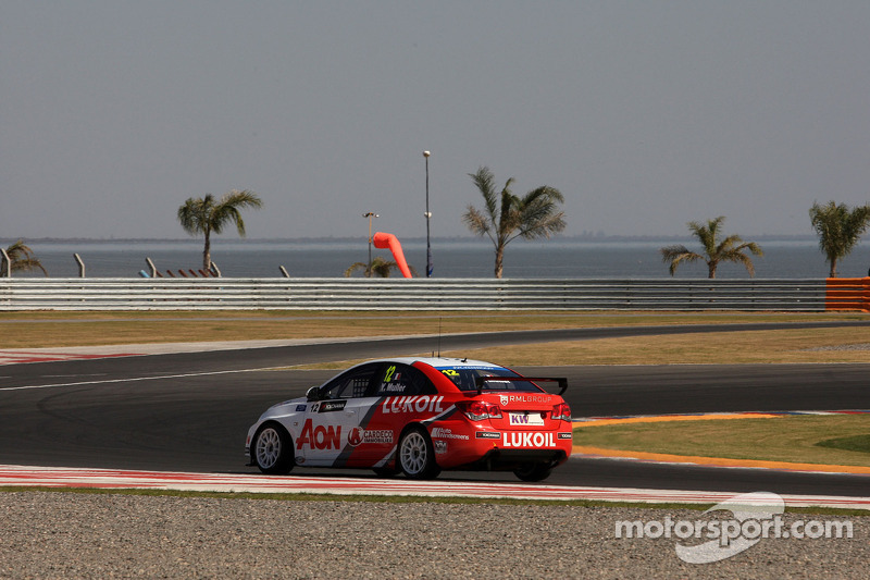 RML lands Argentina front row with Muller on pole, Chilton second