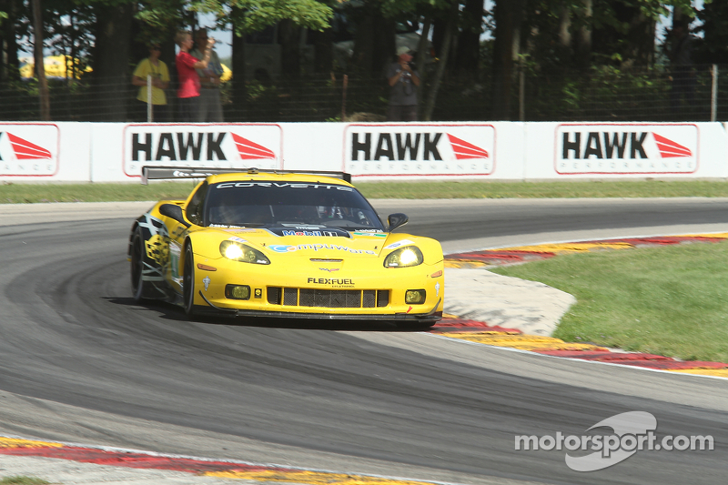 A pair of podium finishes for Corvette Racing at Road America