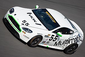 Scott Maxwell jumps to first during CTSCC practice at Kansas Speedway