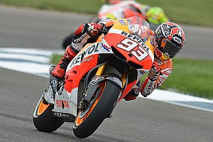 Marquez storms to pole at Indianapolis