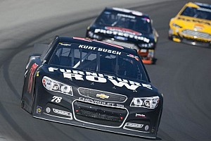 NASCAR Sprint Cup Breaking news Banzai move nets Kurt Busch eight positions in one lap