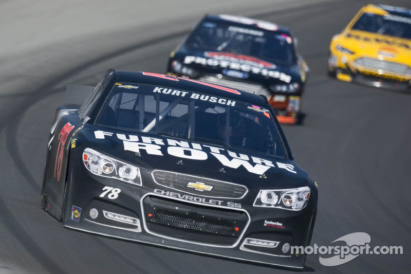 Banzai move nets Kurt Busch eight positions in one lap
