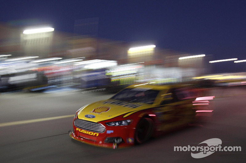 Logano: Racing his own race