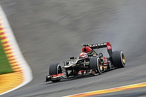 Raikkonen will start one position behind Grosjean on the Belgian GP