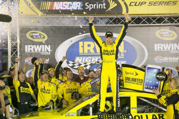 Kenseth gets season win number five at Bristol