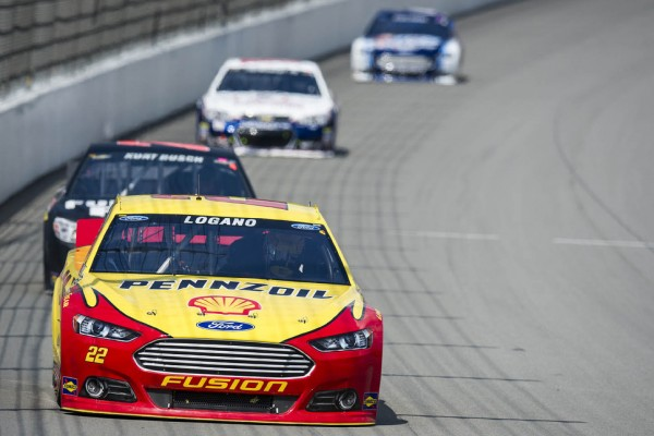 Logano: Eye on the ball