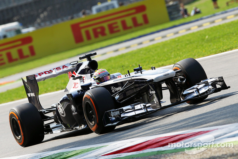 Maldonado qualified 14th with Bottas 18th for tomorrows Italian Grand Prix.
