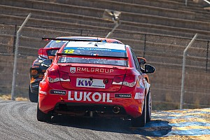 WTCC Race report Tom Chilton reigns supreme in Sonoma with first WTCC victory