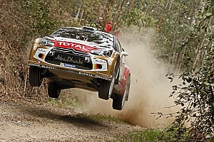 Citroën crews finished the first leg of Rally Australia in second and fourth positions