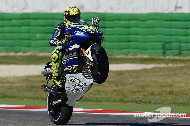 Double front row for Yamaha in Misano qualifying battle