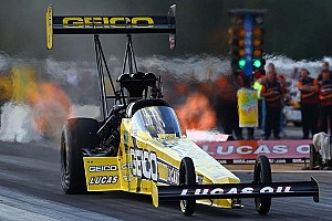 NHRA Qualifying report Pedregon, Lucas, Line and Smith earn No. 1 qualifying slots at Charlotte