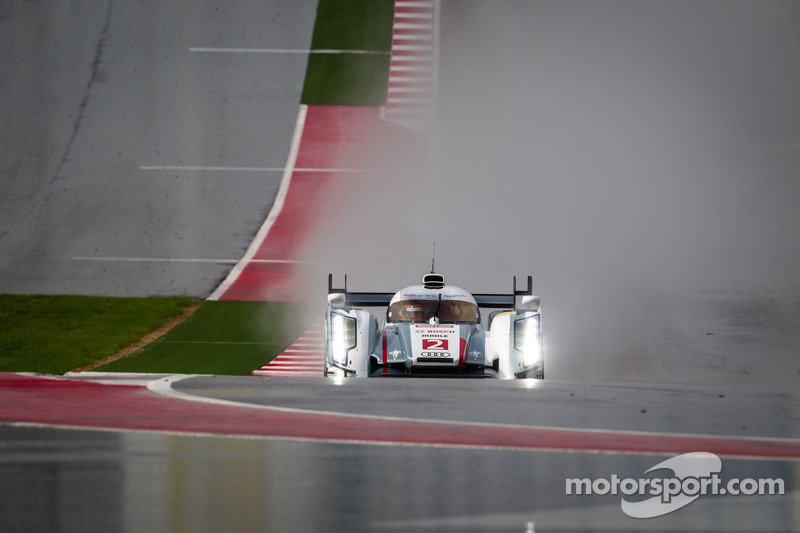 6 Hours COTA: Audi lead wet Free Practice 1
