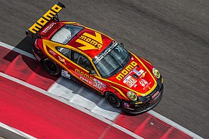 ALMS Qualifying report Edwards nabs another front row start in GTC class at COTA
