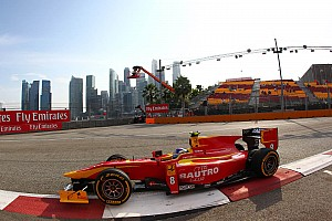 GP2 Race report Leimer finishes 5th on Feature Race in Singapore