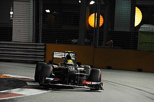 Formula 1 Qualifying report Sauber's Gutiérrez qualified for the top ten for the first time in Singapore