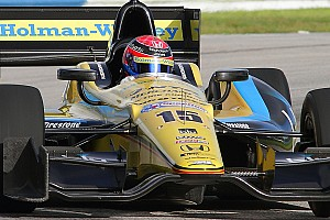 IndyCar Testing report Hawksworth tipped to shine at the highest level