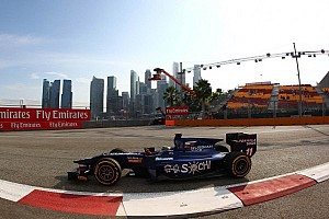 GP2 Race report Bird cruises to Singapore sprint race win