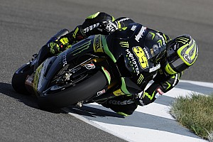 MotoGP Practice report Crutchlow makes promising start at Motorland Aragon