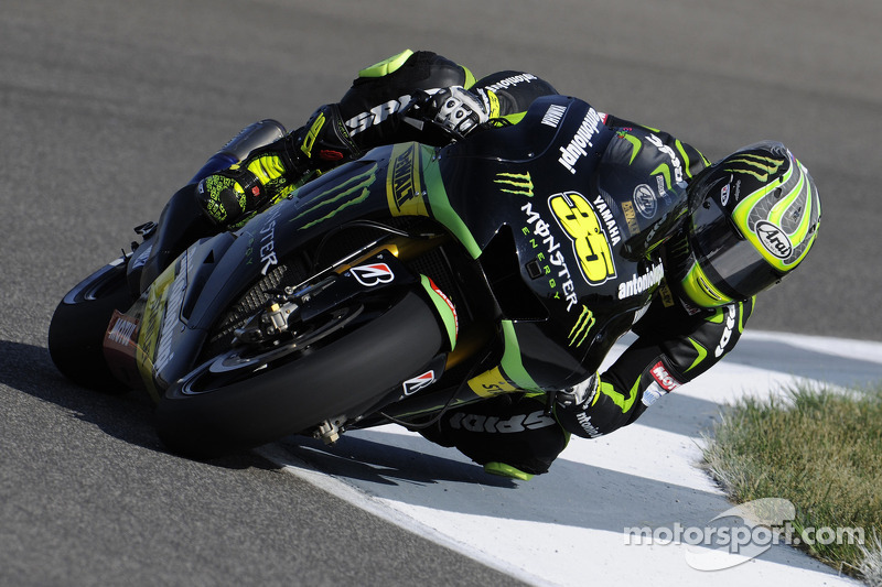 Crutchlow makes promising start at Motorland Aragon