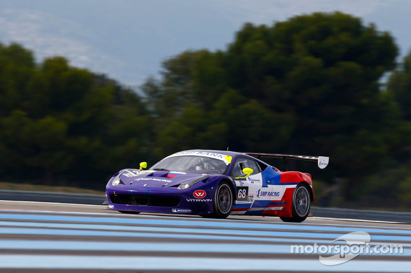 Oliver Turvey and Mika Salo on top of Paul Ricard qualifying
