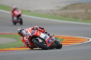 MotoGP Race report Unsatisfying day for Ducati Team at MotorLand Aragón
