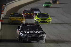 NASCAR Sprint Cup Race report Loose wheel spoils Busch's run in Dover