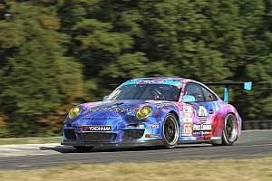 ALMS Qualifying report Faulkner claims second straight GTC pole in TRG Porsche 911 GT3 Cup