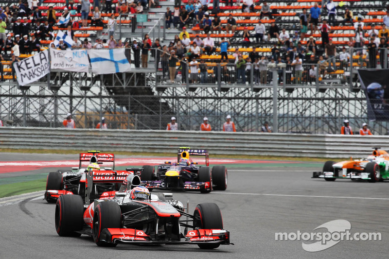 Difficult race for Vodafone McLaren Mercedes drivers at Yeongam