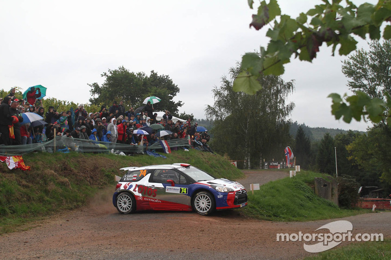 Kubica closes in on WRC2 title