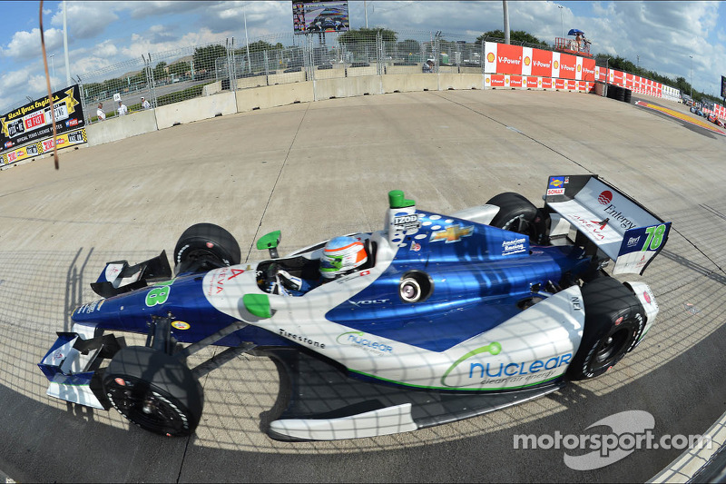 Simona de Silvestro finishes 10th in Houston Sunday