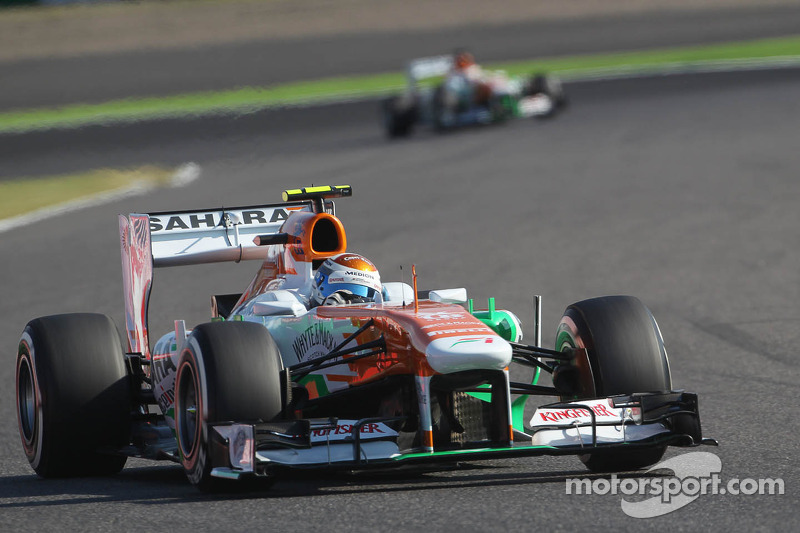 Tough qualifying for Force India at Suzuka