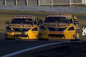 V8 Supercars Race report Nissan Motorsport takes double top 20 at Bathurst 1000