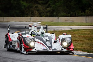 ALMS Breaking news Graf on top in Petit Le Mans warmup in rainy Atlanta