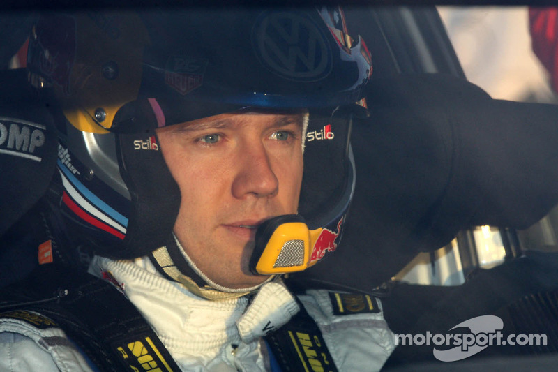 Ogier reigns in Spain on day one