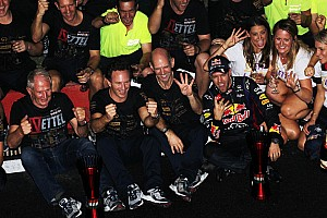 Formula 1 Race report Vettel and Infiniti Red Bull Racing secure double title wins with crushing victiory in India