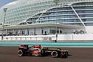 Grosjean tops FP1 in Abu Dhabi