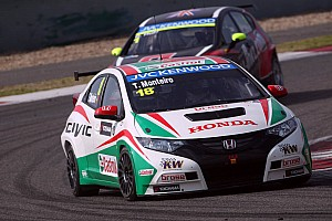 WTCC Qualifying report Tiago Monteiro on pole in China