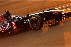 Toro Rosso's Ricciardo is top ten on qualifying for the Abu Dhabi GP