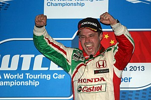 WTCC Race report Tiago Monteiro takes brilliant victory in China