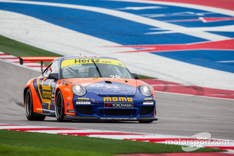 Cisneros fulfills dreams in Porsche 911 GT3 Cup car