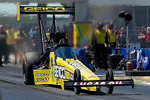 NHRA Preview Lucas looking for win at Pomona to cap professional driving career