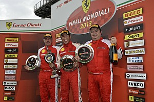 Ferrari Race report Scuderia Corsa's Harry Cheung earns double victory at Mugello