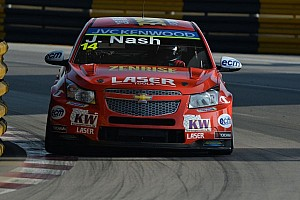 WTCC Race report James Nash wins the Independent title