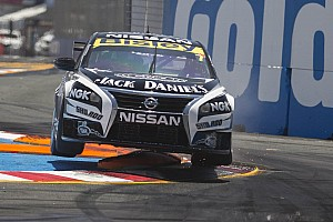 Nissan Motorsport celebrates launch of Altima sedan with special branding at Phillip Island