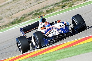 Formula 3.5 Testing report Raffaele Marciello too hot to handle, again