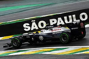 Bottas qualified 13th with Maldonado 17th for tomorrow's Brazilian GP