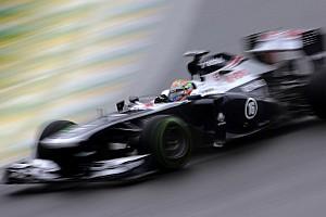Maldonado finished 16th as Bottas retired in today's Brazilian GP