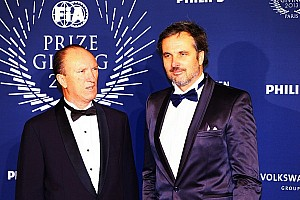 WTCC Breaking news Yvan Muller and Honda crowned champions at Gala in Paris