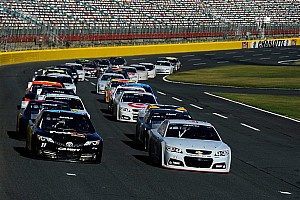 NASCAR Sprint Cup Testing report Charlotte Motor Speedway test builds on Gen-6 development