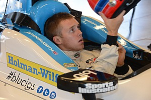 IndyCar Breaking news Hawksworth eager to stake his claim to 2014 with second test outing